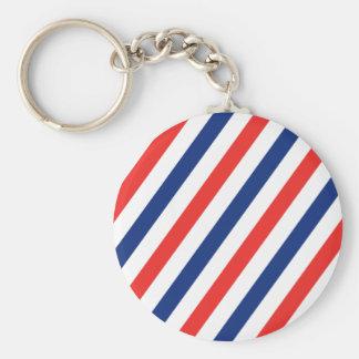 Friseur-Streifen Schlüsselanhänger