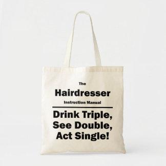Friseur Budget Stoffbeutel