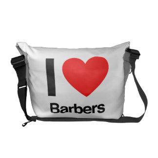 Friseure der Liebe I Kurier Tasche