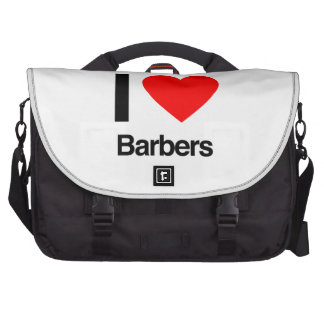 Friseure der Liebe I Laptop Taschen