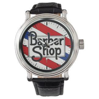 Friseursalon Armbanduhr