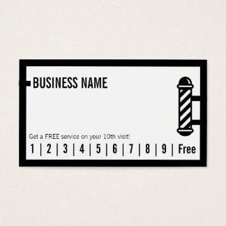 Friseursalon-einfacher unbedeutender visitenkarten