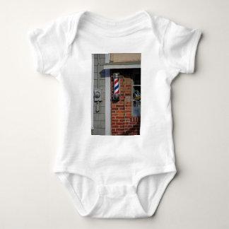 Friseursalon-Pole-Vektor Baby Strampler