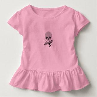 Friseurschädel Kleinkind T-shirt