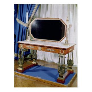 Frisierkommode, die Kaiserin Josephine gehört Postkarte