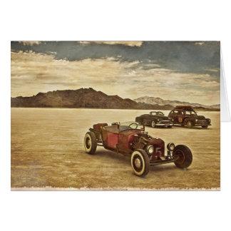 Frisierte Autos bei Bonneville Karte