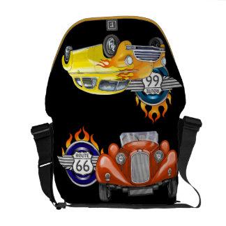 Frisierte Autos/Tasche des Weg-66 - SRF Kurier Tasche