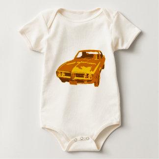 Frisiertes Auto 67 Baby Strampler