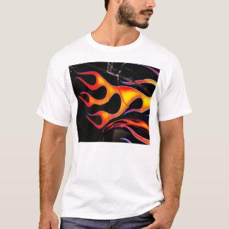 Frisiertes Auto flammt T - Shirt