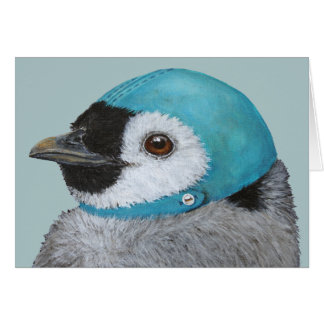 Frisky die Pinguin Weihnachtskarte Karte