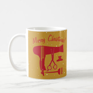 Frisurwerkzeuge Kaffeetasse