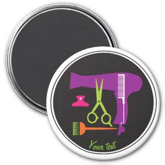 Frisurwerkzeuge Runder Magnet 7,6 Cm
