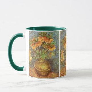 Fritillaries in einem kupfernen Vase durch Vincent Tasse