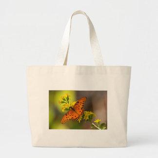 Fritillary-Golf-Schmetterlings-Geschenke und Kleid Jumbo Stoffbeutel