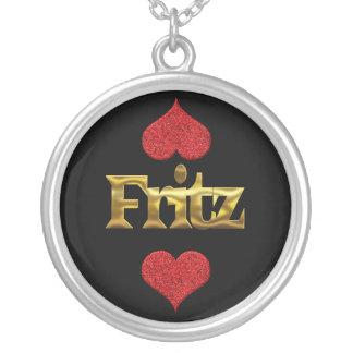 Fritz-Halskette Versilberte Kette