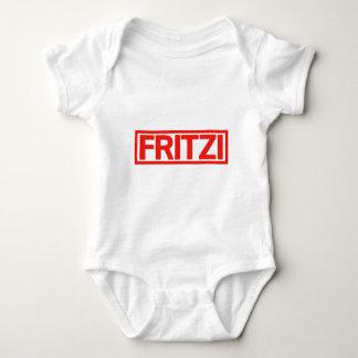 Fritzi Briefmarke Baby Strampler