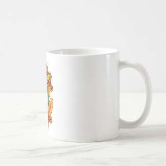 Frog spinner kaffeetasse