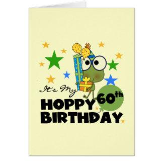 Froggie hopfenreicher 60. Geburtstag Karte