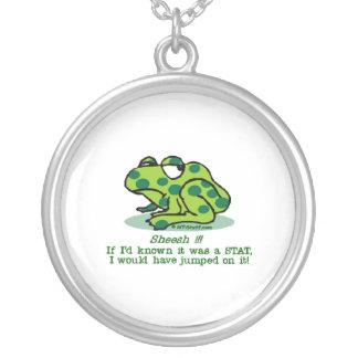 Froggie Notfall Versilberte Kette