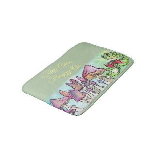 Froggy-LeseStorybook, behalten ruhigen Froggy an Badematten