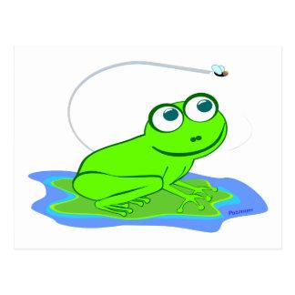 Froggy Postkarte