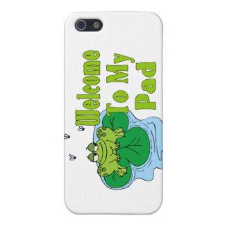 Froggy sagt Willkommen zu meiner Auflage iPhone 5 Hülle