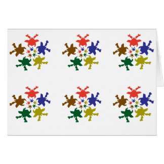 Froggy-Tanz Skydive: ART101 deckte Muster mit Karte