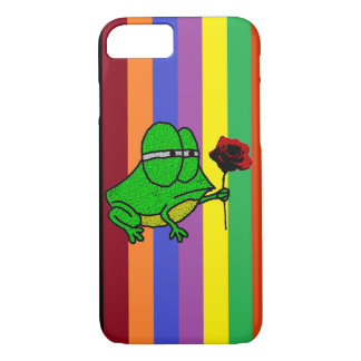 Froggy und Rose iPhone 7 Gehäuse iPhone 8/7 Hülle
