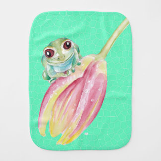 Froggygrün Spucktuch