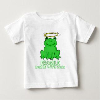 Frogile (zerbrechlicher) Griff machen sorgfältig Baby T-shirt
