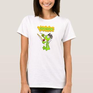 Froginho der Capoeira Frosch die T-Shirts/die T-Shirt