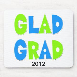 Froh, ein Absolvent-Abschluss 2012 zu sein Mousepad