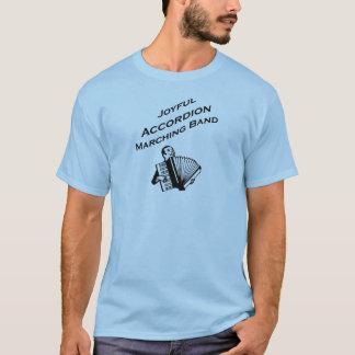 Frohe Akkordeon-Blaskapelle T-Shirt