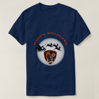 Frohe Feiertage Clark County Nevada Feuer T-Shirt