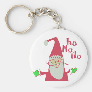 Frohe Feiertage Ho Ho Ho fröhliches Christmas.png Schlüsselanhänger