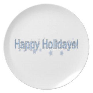 Frohe Feiertage jeder! Teller