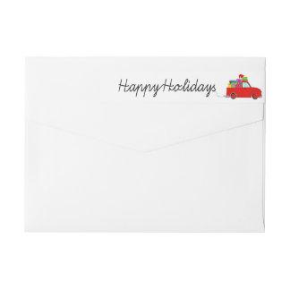 Frohe Feiertage LKW- und Geschenke
