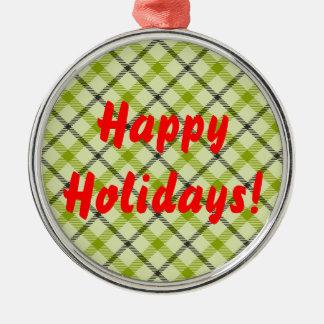 Frohe Feiertage Weihnachtsornament