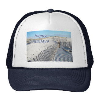 Frohe Feiertage Sanddünen und Zäune Cap