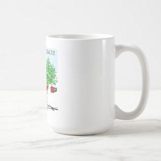 Frohe Feiertage - Schneemann Kaffeetasse