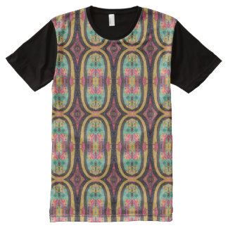FROHE FEIERTAGE T-Shirt MIT KOMPLETT BEDRUCKBARER VORDERSEITE