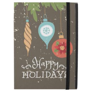 Frohe Feiertage verziert Weihnachten dekoratives