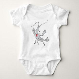 Frohe Garnele Baby Strampler