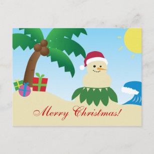 Frohe Weihnachten Hawaii.Frohe Weihnachten Von Hawaii Postkarten Zazzle De