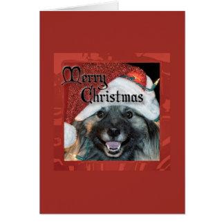 Frohe Keesie Weihnachten Karte