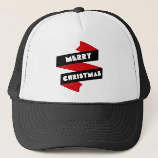 Frohe Weihnacht-Band Truckerkappe
