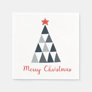 Frohe Weihnacht-Cocktail-Papierservietten Serviette