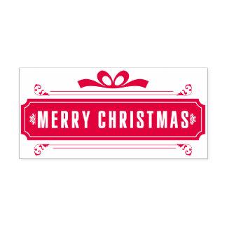 Frohe Weihnacht-Feiertag Permastempel