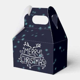 Frohe Weihnacht-Feiertags-Geschenkboxen Geschenkschachtel