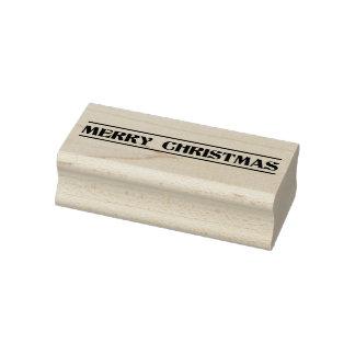 Frohe Weihnacht-Feiertags-Gummi-Briefmarke Gummistempel